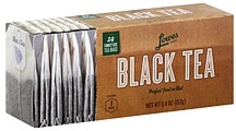 Lowes Foods Family Size Bags Black Tea - 24 ea