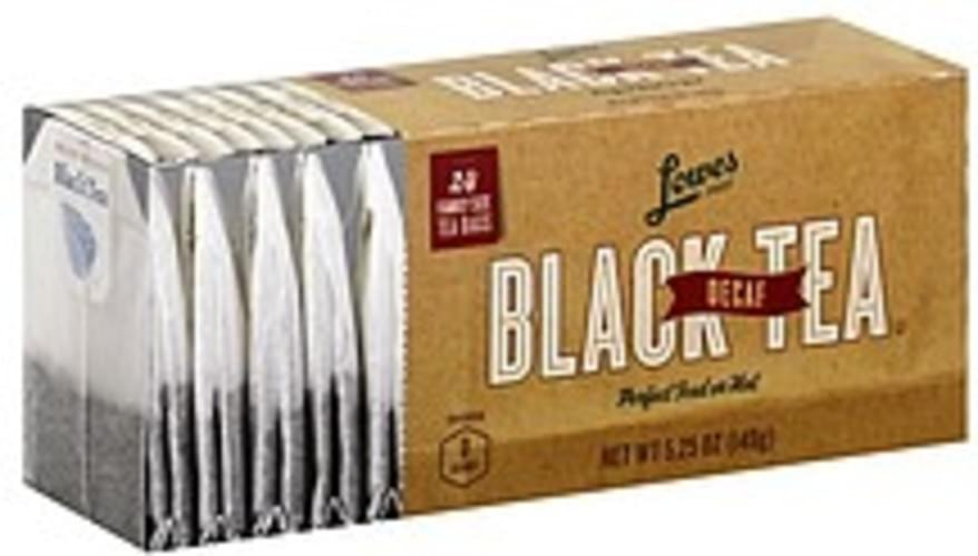 Lowes Foods Decaf, Family Size Bags Black Tea - 24 ea