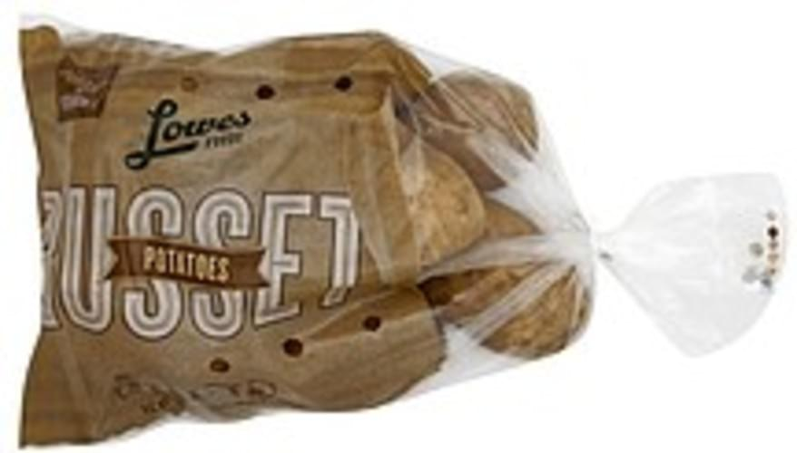 Lowes Foods Russet Potatoes - 5 lb