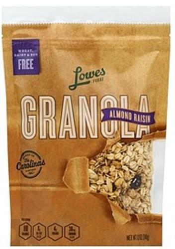 Lowes Foods Almond Raisin Granola - 12 oz