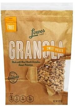 Lowes Foods Granola Sweet Potato
