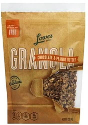 Lowes Foods Chocolate & Peanut Butter Granola - 12 oz
