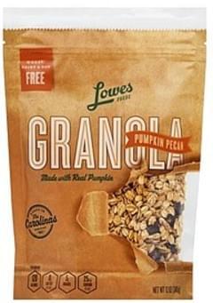 Lowes Foods Granola Pumpkin Pecan