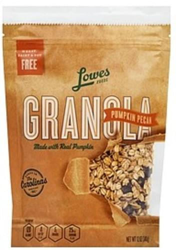 Lowes Foods Pumpkin Pecan Granola - 12 oz