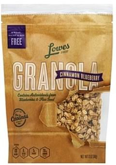 Lowes Foods Granola Cinnamon Blueberry