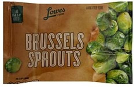 Lowes Foods Brussels Sprouts