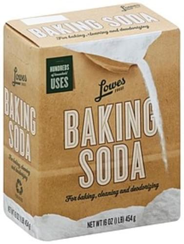Lowes Foods Baking Soda - 16 oz