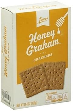 Lowes Foods Crackers Honey Graham