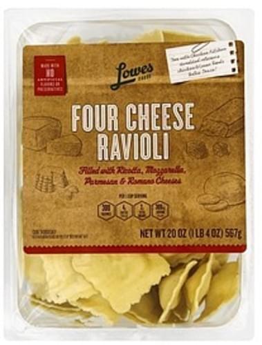 Lowes Foods Four Cheese Ravioli - 20 oz