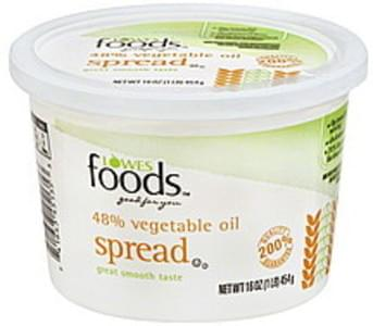 Lowes Foods Vegetable Oil Spread 48%