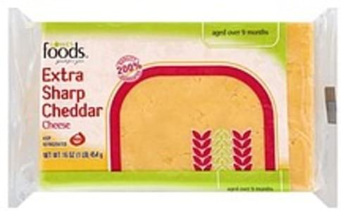 Lowes Foods Cheese Cheddar, Extra Sharp