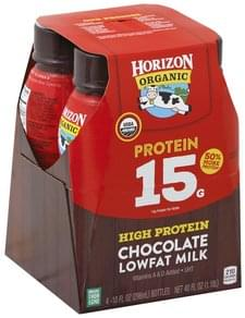 Horizon Milk Lowfat, Chocolate