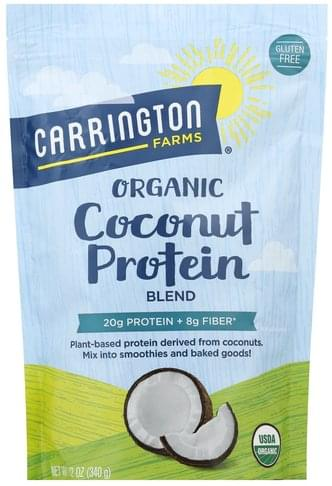 Carrington Farms Organic Coconut Protein Blend - 12 oz