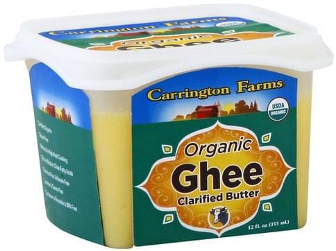 Carrington Farms Organic, Clarified butter Ghee - 12 oz