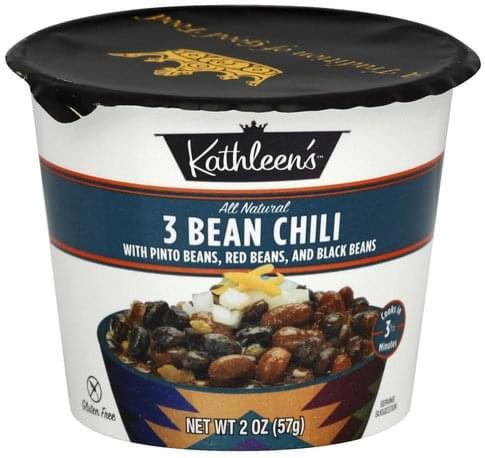 Kathleens 3 Bean Chili - 2 oz