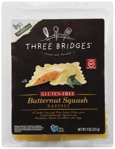 Three Bridges Ravioli Butternut Squash, Gluten-Free