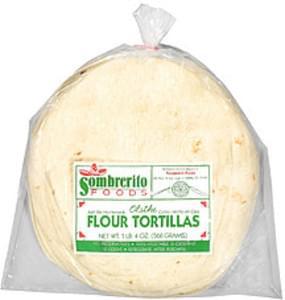 Sombrerito Flour Tortillas 10 Pack