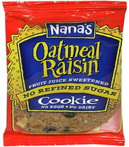 Nanas Cookie Oatmeal Raisin