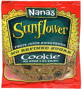Nanas Cookie Sunflower