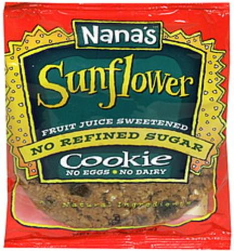 Nanas Sunflower Cookie - 3.5 oz
