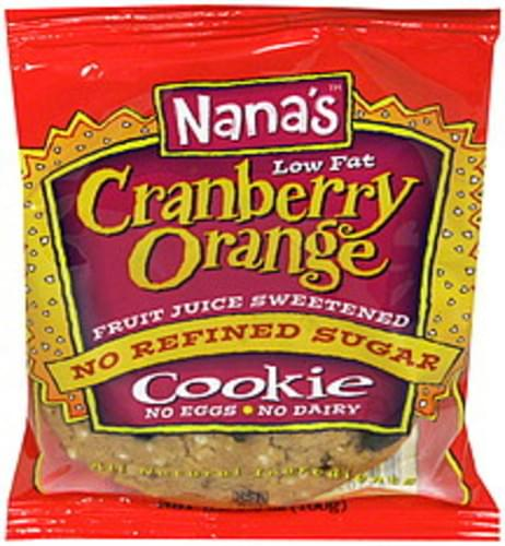 Nanas Cranberry Orange Cookie - 3.5 oz