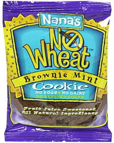 Nanas No Wheat, Brownie Mint Cookie - 3.5 oz