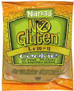 Nanas Cookie No Gluten, Lemon