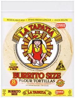 La Tapatia Tortillas Burrito Size Flour