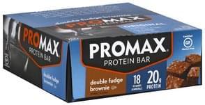 Promax Protein Bar Double Fudge Brownie, Original