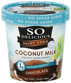 So Delicious Non-Dairy Frozen Dessert Coconut Milk, Chocolate
