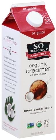 So Delicious Dairy Free, Organic