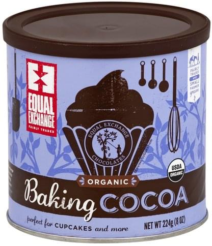 Equal Exchange Organic Baking Cocoa - 224 oz