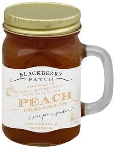 Blackberry Patch Preserves Peach