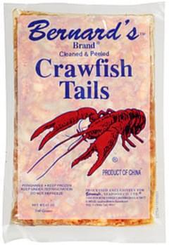Bernard's Brand Crawfish Tails Cleaned & Peeled