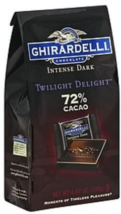 Ghirardelli Dark Chocolate Twilight Delight, 72% Cacao