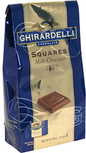 Ghirardelli Milk Chocolate Squares - 6