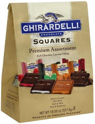 Ghirardelli Squares, Premium Assortment