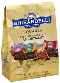 Ghirardelli Chocolate Assortment Premium, Squares