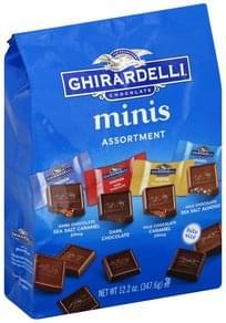 Ghirardelli Chocolate Assortment, Minis