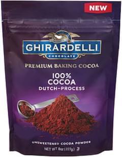 Ghirardelli Chocolate Ghirardelli 100% Unsweetened Premium Baking Cocoa 100% Unsweetened Premium Baking