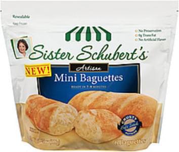 Sister Schubert's Baguettes Artisan Mini