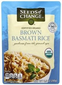 Seeds Of Change Rice Certified Organic, Brown Basmati