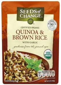 Seeds of Change Rice Certified Organic, Quinoa & Brown