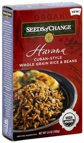 Seeds Of Change Rice & Beans Whole Grain, Cuban-Style