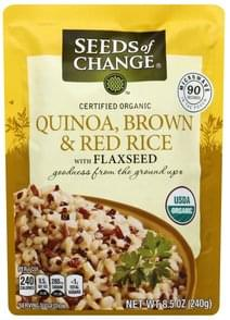 Seeds Of Change Quinoa, Brown & Red Rice Certified Organic