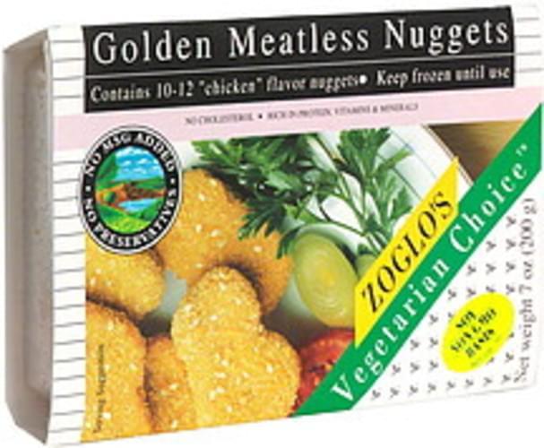 Zoglos Golden Meatless Nuggets - 7 oz