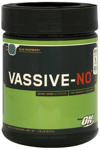 Optimum Nutrition Blue Raspberry Nitric Oxide Activator