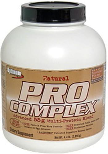 Optimum Nutrition Natural Chocolate Advanced 55g Multi-Protein Blend - 4.4 lb