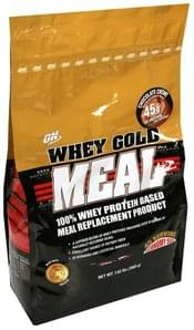 On 100% Whey Protein Based Meal Replacement Product Chocolate Creme