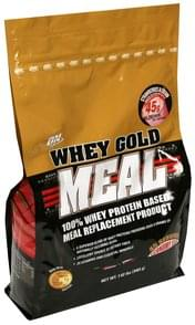 On 100% Whey Protein Based Meal Replacement Product Strawberries & Cream